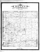 Dover Township, Eagle Lake, Racine and Kenosha Counties 1887