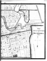 Kenosha - First and Fourth Wards - Right, Racine and Kenosha Counties 1887