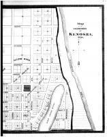 Kenosha - Second Ward - Right, Racine and Kenosha Counties 1887