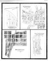 Parkersville, Waterford, Rochester, Franksville, Racine and Kenosha Counties 1887