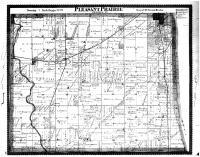 Pleasant Prairie Township, Racine and Kenosha Counties 1887