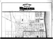 Racine City - North - Above, Racine and Kenosha Counties 1887