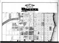 Racine City - South - Above, Racine and Kenosha Counties 1887
