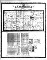 Rochester Township, Union Grove, Racine and Kenosha Counties 1887