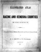 Racine and Kenosha Counties 1887