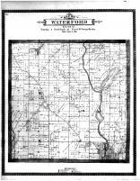 Waterford Township, Caldwell PO, Lake Tish-Shar-Gan, Racine and Kenosha Counties 1887