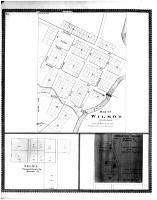 Wilmot, Selma, Brighton Village, Racine and Kenosha Counties 1887