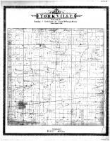 Yorkville Township, Union Grove, Sylvania PO, Racine and Kenosha Counties 1887