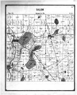 Salem Township, Fox River, Trevor, Wilmot, Racine and Kenosha Counties 1899