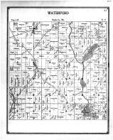 Waterford Township, Caldwell, Lake Tish Shar Gan, Racine and Kenosha Counties 1899