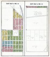 Pleasant Prarie Township - Sections 18 and 19 - East