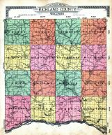Index Map, Richland County 1919