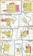 Orion, Hub City, Excelsior, Twin Bluffs, Loyd, Boaz, Rockbridge, Byrd's Creek, Bloom City, Richland County 1919
