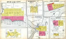 Richland City, Woodstock, Port Andrew, Ithaca, Cazenovia, Gotham, Richland County 1919