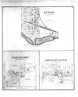 Afton, Johnstown, Johnstown Centre, Rock County 1891