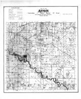 Avon Township, Sugar River, Rock County 1891