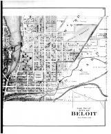 Beloit City - South - Right, Rock County 1891