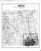 Beloit Township, Rock River, Rock County 1891