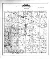 Center Township, Fellows PO, Footville, Leyden Sta, Rock County 1891
