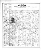 Clinton Township, Allens Grove Sta, Rock County 1891
