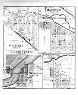 Footville, Hanover, Fulton Center, Cooksville, Rock County 1891
