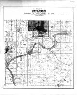 Fulton Township, Newville, Indianford, Edgerton, Rock County 1891