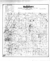 Harmony Township, Rock County 1891