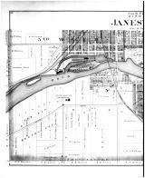 Janesville City - South - Left, Rock County 1891