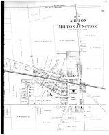 Milton & Milton Junctions - Right, Rock County 1891