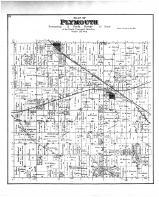 Plymouth Township, Hanover, Footville, Rock County 1891
