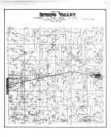 Spring Valley Township, Broadhead, Orford, Rock County 1891