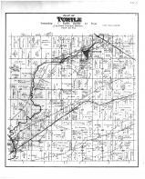 Turtle Township, Shopiere, Beloit Junt, Porters Sta, Rock County 1891