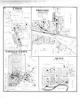 Union, Orford, Emerald Grove, Avon, Rock County 1891