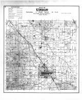 Union Township, Evansville, Rock County 1891