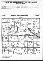 Spring Valley T2N-R10E, Rock County 1992 Published by Farm and Home Publishers, LTD