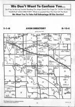 Avon T1N-R10E, Rock County 1992 Published by Farm and Home Publishers, LTD