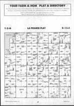 La Prairie T2N-R13E, Rock County 1992 Published by Farm and Home Publishers, LTD