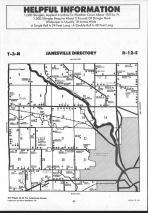 Janesville T3N-R12E, Rock County 1992 Published by Farm and Home Publishers, LTD