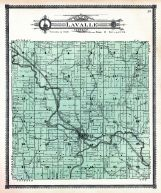 Lavalle Township, Sauk County 1906