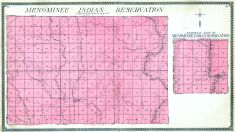 Menominee Indian Reservation, Shawano County 1911