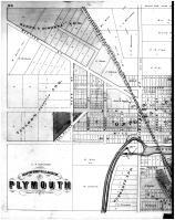 Plymouth Village - Left, Sheboygan County 1875