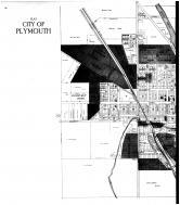 Plymouth City - Left, Sheboygan County 1916