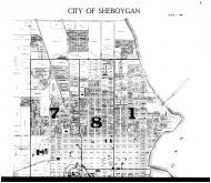 Sheboygan City - Above, Sheboygan County 1916