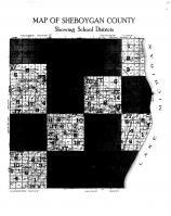 Sheboygan County School Districts, Sheboygan County 1916