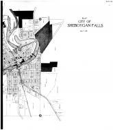 Sheboygan Falls City - Right, Sheboygan County 1916