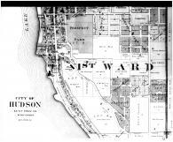 Hudson City - Below, St. Croix County 1897