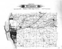 Hudson Township, North End, Burkhardt, St. Croix County 1897