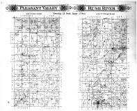Pleasant Valley Township, Rush River Township, Centreville, Palmer PO, St. Croix County 1897