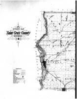 Saint Croix County Outline Map - Left, St. Croix County 1897