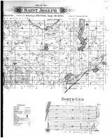 Saint Joseph, North Hudson, North End - Right, St. Croix County 1897